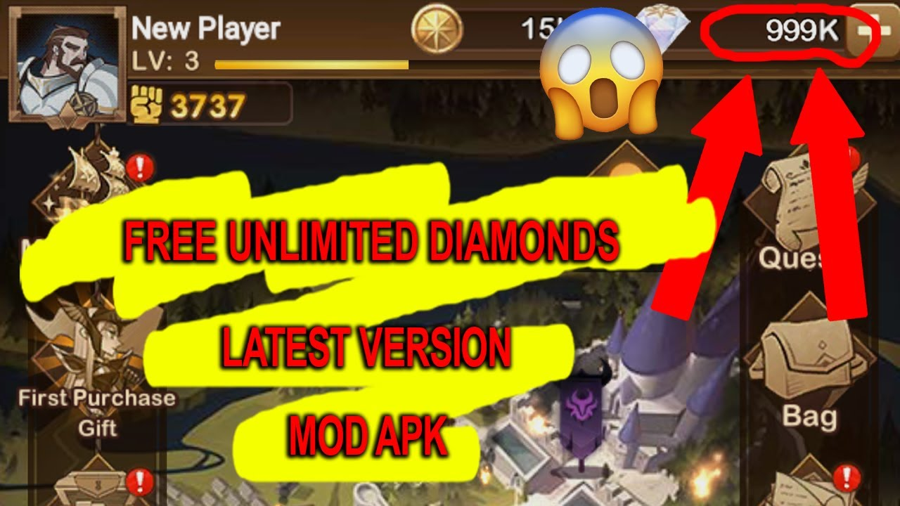 afk arena mod apk unlimited diamond